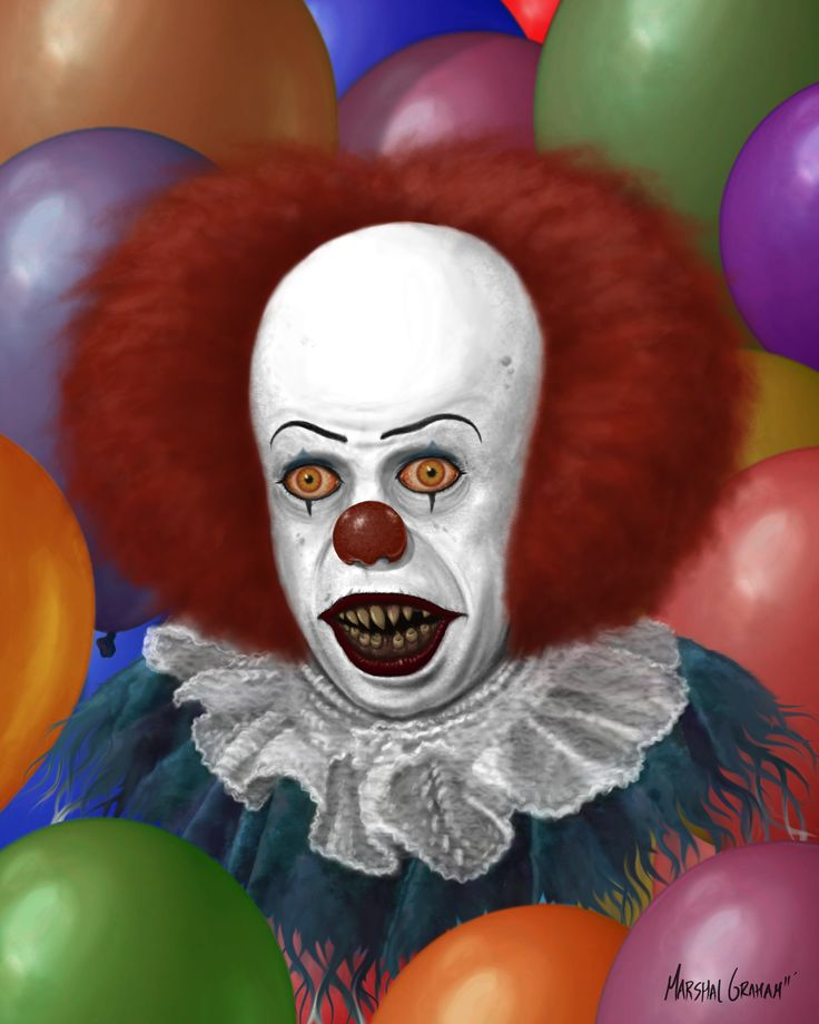 Pennywise the Dancing Clown by MarshalGraham.deviantart.com on @deviantART