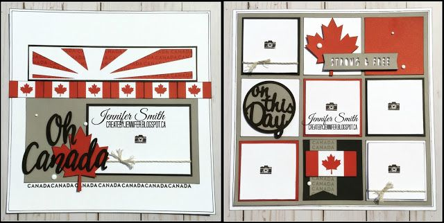 CTMH Oh Canada Scrapbook Workshop - Guide Available