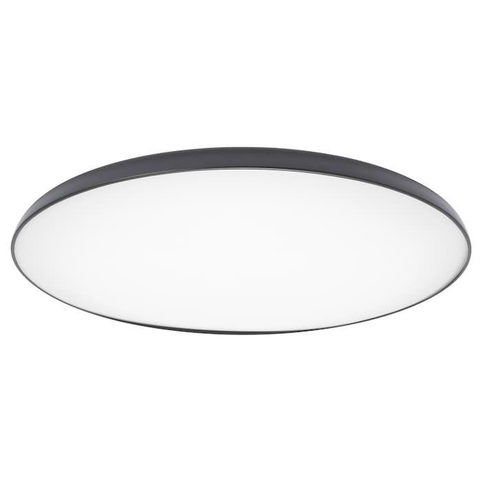 Nymane Led Plafondlamp Antraciet Ikea Ceiling Lamp Led Ceiling Lamp Lamp
