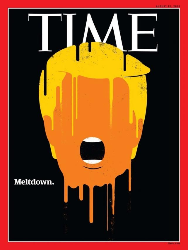 time magazine | Time Magazine cover by Edel Rodriguez Credit: Time Magazine/Edel ...