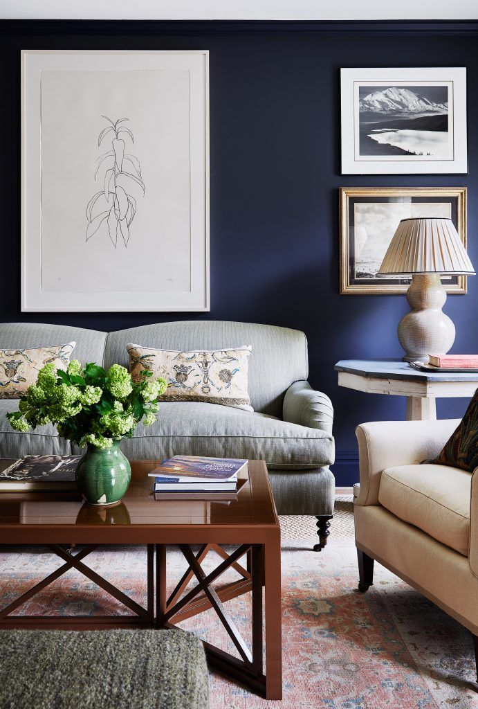 10 Stunning Royal Blue Living Room Furniture