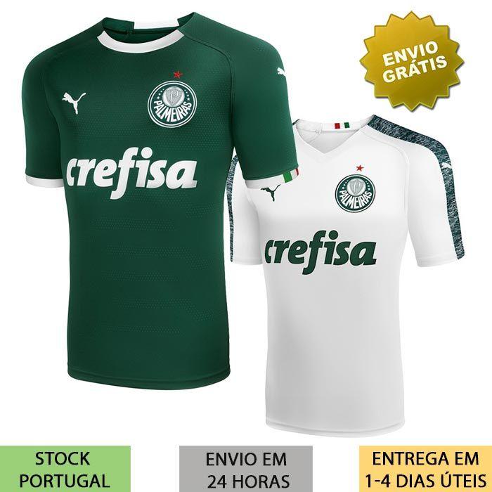 e9e60d1e8c02f4 Camisa Palmeiras 2019/2020 camisola verde ou branca de 2019 | Loja ...