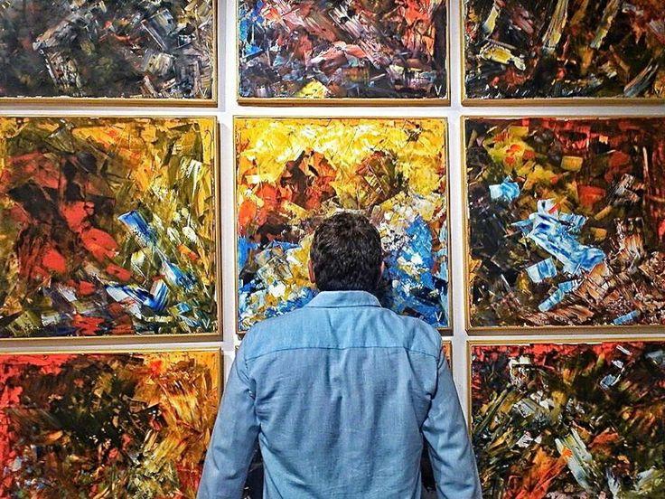 Exposición El lenguaje del azar. Galería Siluro Concept. Madrid. 2014.