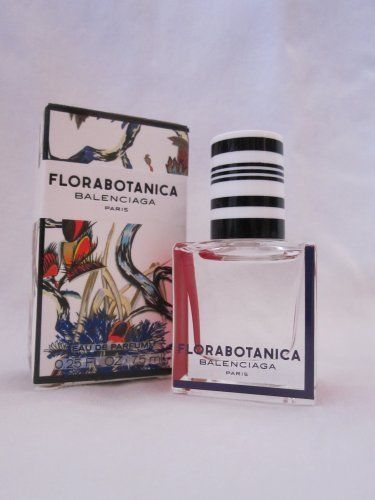 Florabotanica By Balenciaga Eau De Parfum 7.5 Ml by Balenciaga. $36.00. Florabotanica By Balenciaga Eau De Parfum 7.5 ml Spray. Florabotanica By Balenciaga Eau De Parfum ml Oz Spray  Florabotanica is the new fragrance from the botanical gardens of Balenciaga, inspired by the woman who is beautiful but dangerous like many rare botanical flowers. A bewitching fragrance, this new scent twists Turkish rose with hemp and vetiver roots for an addictive trail. About Balenciag...