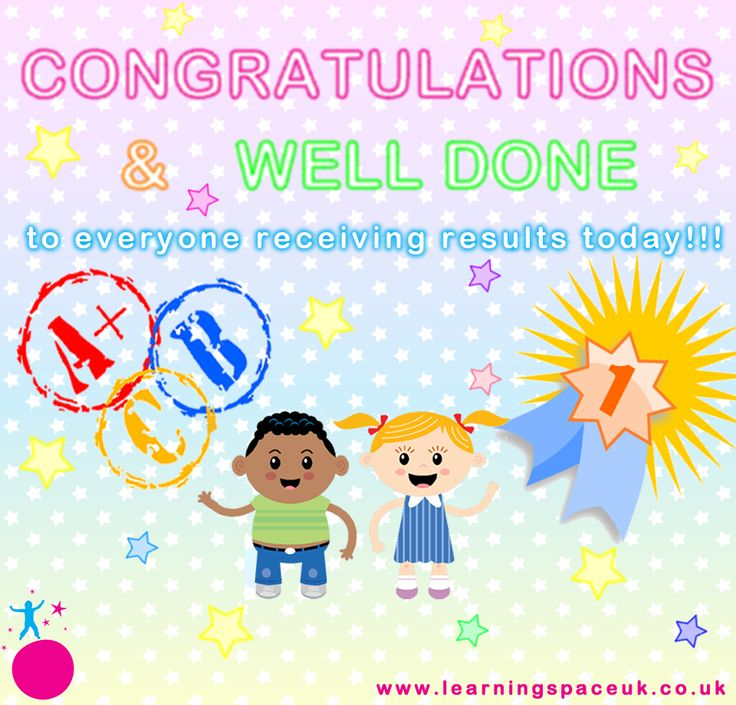 #Congratulations & Well Done to everyone receiving results!! www.learningspaceuk.co.uk www.facebook.com/LearningSPACE