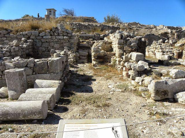 Ancient Thera, Santorini, Greece