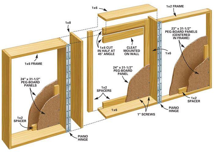 83 best Shop plans images on Pinterest   Woodwork, Woodworking ...