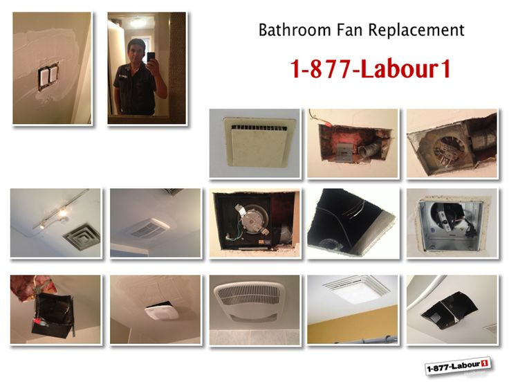 #bathroom #fan replacements