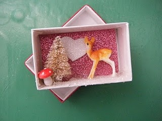 Mini Shadowbox Valentine