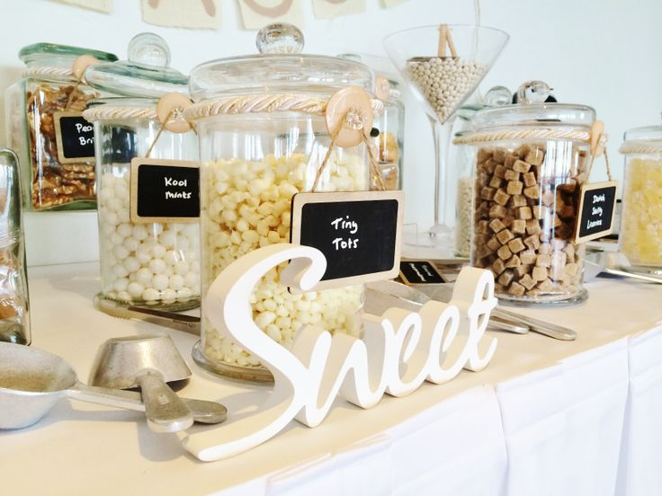 Sweet Sensations Candy Bar by @Beedazzled Events