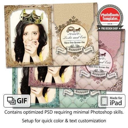 This fancy and elegant template is perfect for any fairytale, princess, or castle  or even any simple vintage themed event with its ornate frames, embellished text badge, plush background, and a horse carriage. It is great for any weddings, birthdays, sweet sixteens, anniversaries, etc.! Colors are adjustable to match any event theme. Horse carriage layer is removable, to suit events that are not fairytale related..