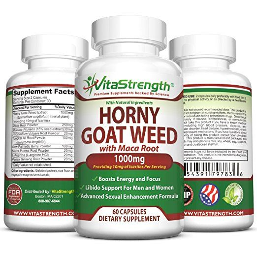 VitaStrength Horny Goat Weed Full Review – Does It Work? Review of VitaStrength Horny Goat Weed and the best natural Candida and Bacterial Vaginosis supplements.