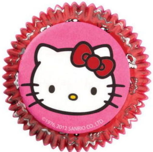 PAPER BAKING CUPS ~ HELLO KITTY ~ Made In USA ~ Wilton #Wilton www.stores.ebay.com/thegingerbreadcollection