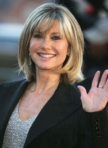 Thick And Longer Bob hairstyle 2013 - great bob for the older woman or those with thick hair