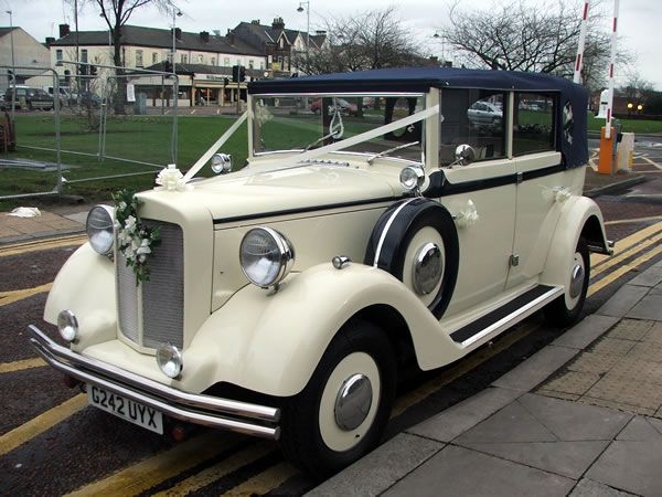 The Regent Convertible Wedding Car | Hire it today!