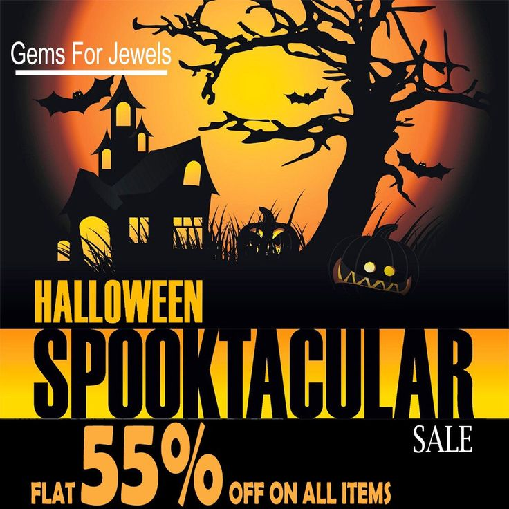 Gemsforjewels announces its Steam Halloween Spooktacular Sale! We are flat 55% off on all items. Shop our sale for steaming offers and discounts. Only for a limited offer. Convo me for your custom requests. Happy Halloween!!
