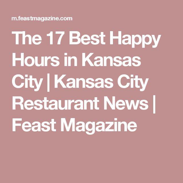 The 17 Best Happy Hours in Kansas City | Kansas City Restaurant News | Feast Magazine
