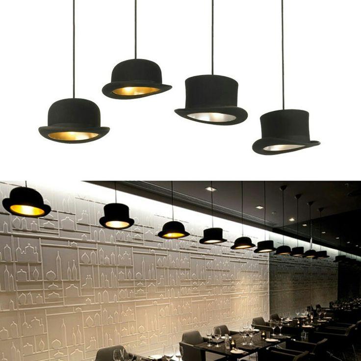 Jeeves Hat pendant lights