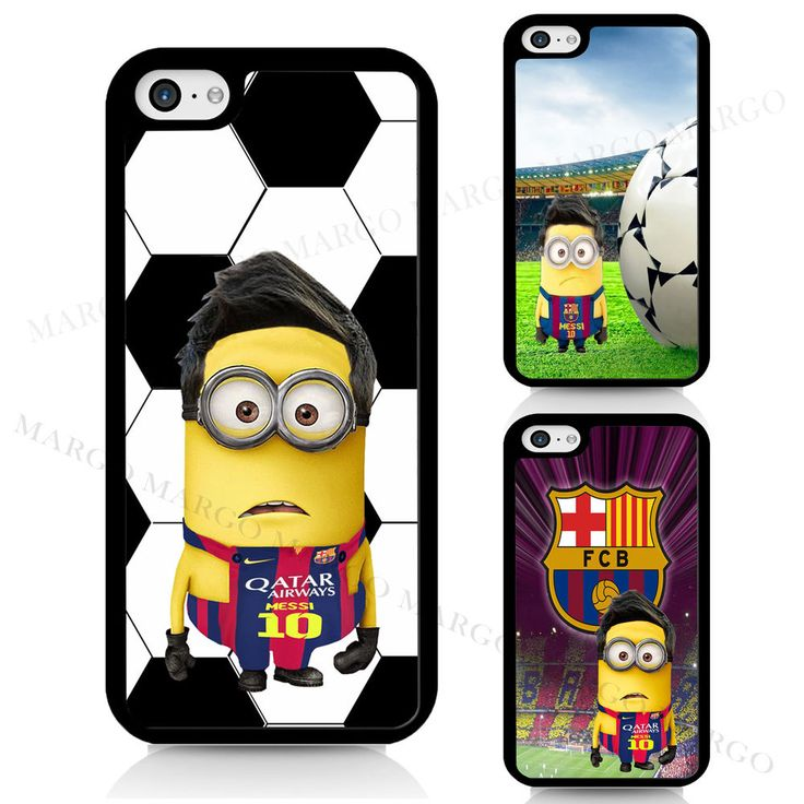 Minion Messi Barca Barcelona Football Cover Case for iPhone iPod Samsung Sony  in Mobile Phones & Communication, Mobile Phone & PDA Accessories, Cases & Covers | eBay!