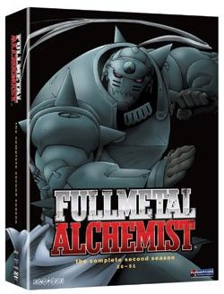 Fullmetal Alchemist Season 2 DVD Box Set (Hyb) #RightStuf2013