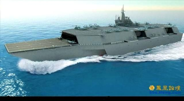 Futuristic Navy Ships | Look at this design of a carrier ... Modern Us Battleship Design