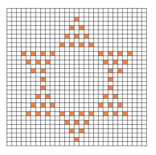 Ravelry: Sun Bobble Chart pattern by Kari Philpott
