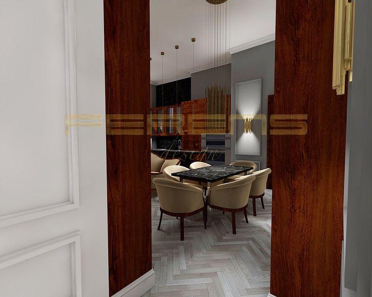 architekt FERENS design joanna ferens - hofman warszawa wizualizacje , mieszkanie lublin , projekt wnętrza , architektura wnętrz