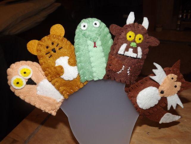 Gruffalo Finger Puppets