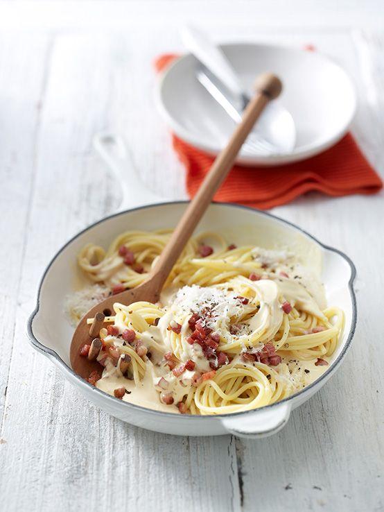 Spaghetti alla Carbonara nach Südtiroler Art