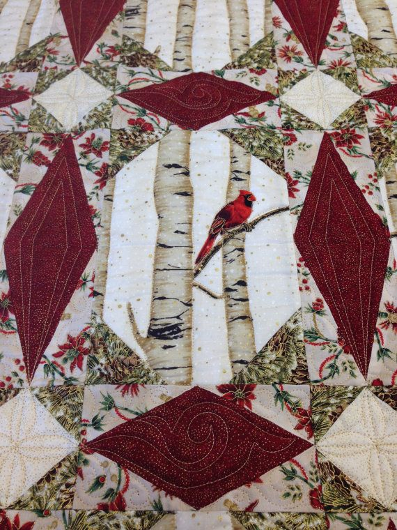 Natures Embrace Christmas Quilt Kit Pattern by by ...