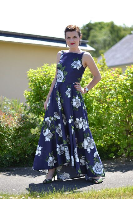 Maxi Flora Dress |pauline alice - Sewing patterns, tutorials, handmade clothing & inspiration