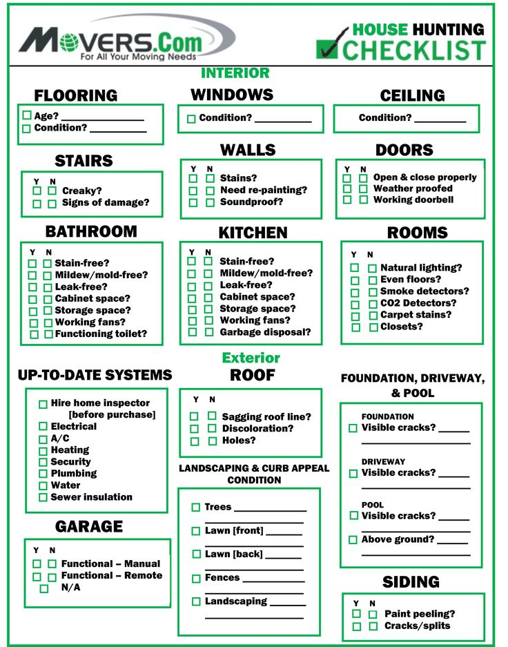 23 best Movers - Checklists images on Pinterest Home buying - company inventory template