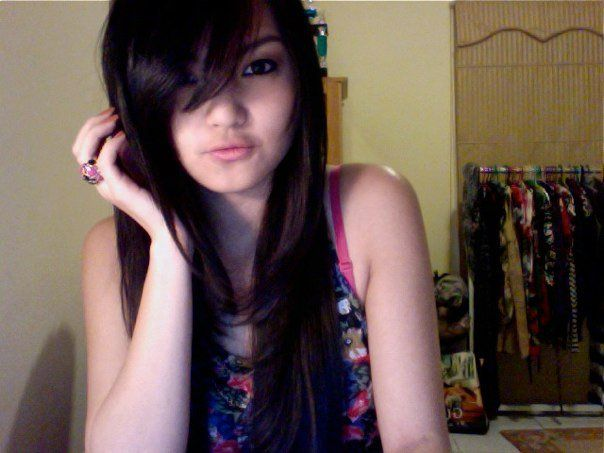2012 Asian Long Hairstyles  with Layered Hair for Young Women