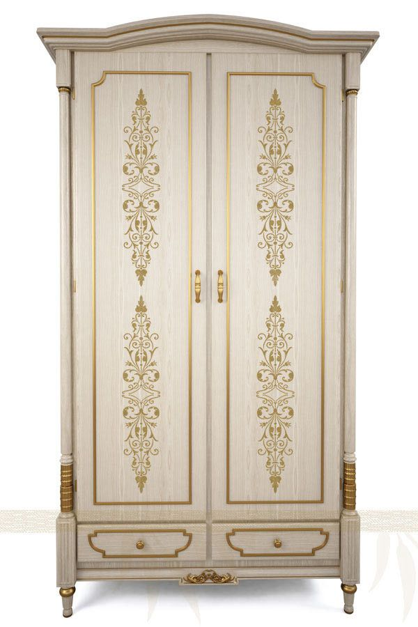 Use the Filagree Panel Furniture Stencil vertically on door panels, or vertically on drawer fronts. This stencil can also be repeated end to end to make a beautiful wall stencil border. | Royal Design Studio