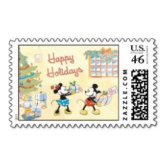 Old School Disney Christmas Stamps #postage