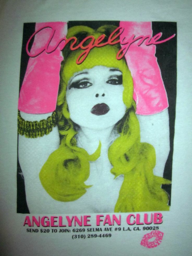 angelyne 80s - photo #38