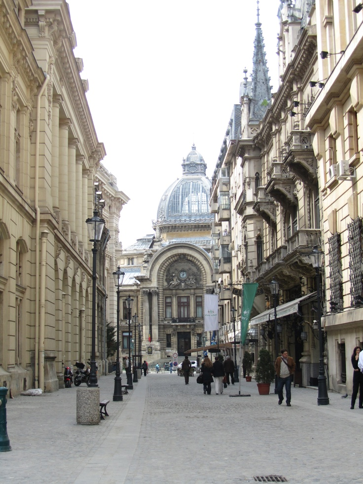 """Bucharest, Romania     A month without """"you know who."""" I'm going to miss her while she's here."""