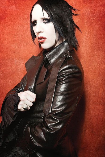 Marilyn Manson. Some may find disturbing, but i like some of his songs ive got on my phone!