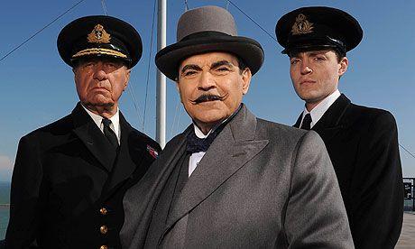 David Suchet as Agatha Christie's famous Belgium detective, Hercule Poirot. Photograph: Mike Lawn/ITV