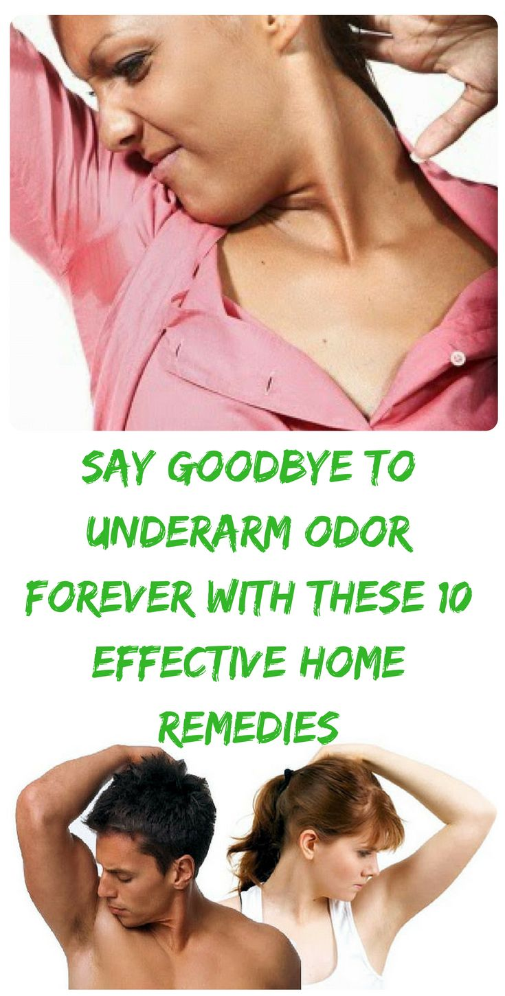 how to stop underarm odor forever