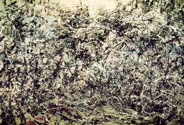 Nº1. Jackson Pollock. 1948 : Observatorio - Obra de arte del día