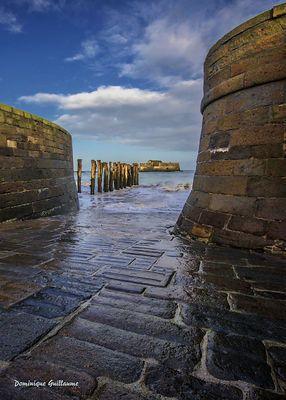 Les fortifications de Saint-Malo.