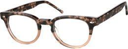 636425 Acetate Full-Rim Frame with Spring Hinges