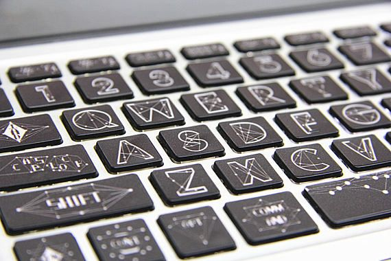 Clavier dordinateur portable clavier peau Macbook Sticker