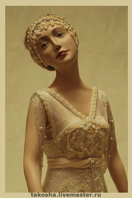 """Купить Фарфоровая кукла """"Елена - Лунный свет"""". - фарфоровая кукла, авторская кукла, кукла из фарфора"""
