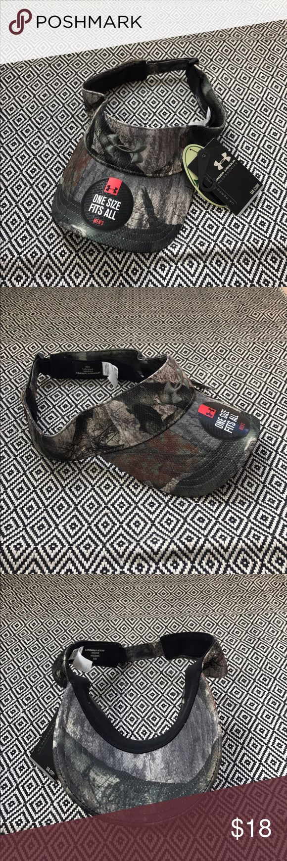 Under Armour Camouflage Camo Visor Hat Brand new with tags. One size men's! Make me an offer! Under Armour Accessories Hats