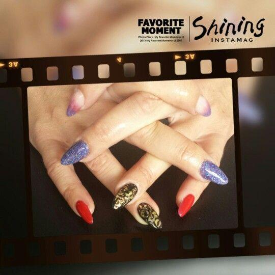 Kleurrijke nagels