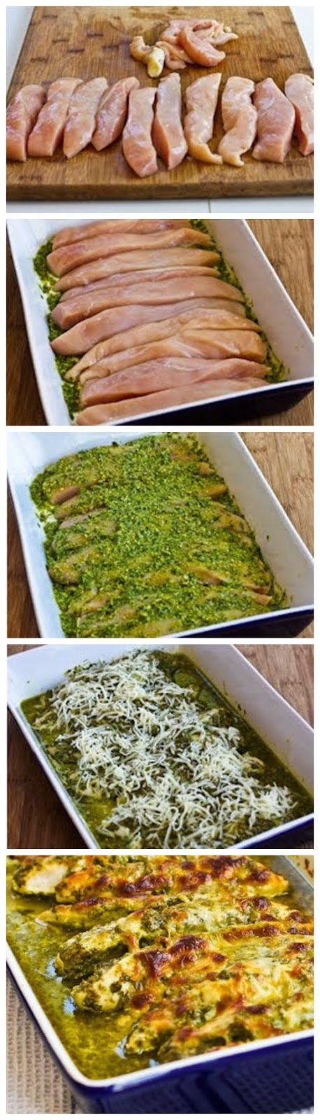 Baked Pesto Chicken