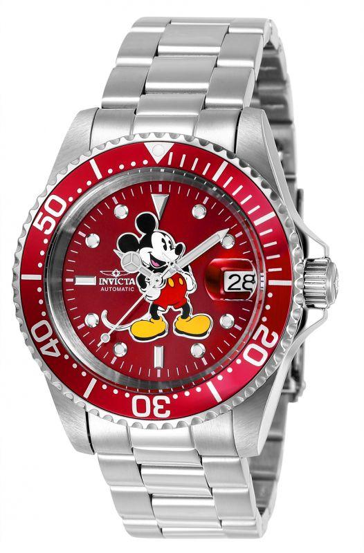 Invicta Disney 24609, perfecto para el fan Invicta con resistencia al agua de 20 atms y maquinaria automático.