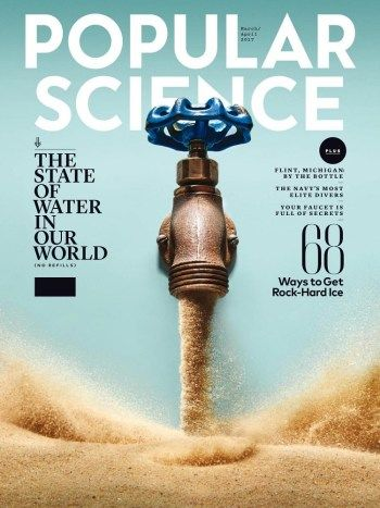 #MagLove 3 March 2017 — the best magazine covers this week — Popular Science, March/April 2017.